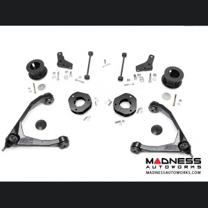 """Chevy Suburban 2WD Suspension Lift Kit W/ Forged Upper Control Arms - 3.5"""" Lift - Aluminum"""